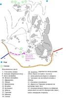 Схема местности