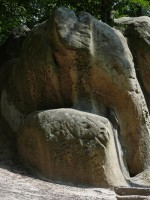 Болдеринговый камень