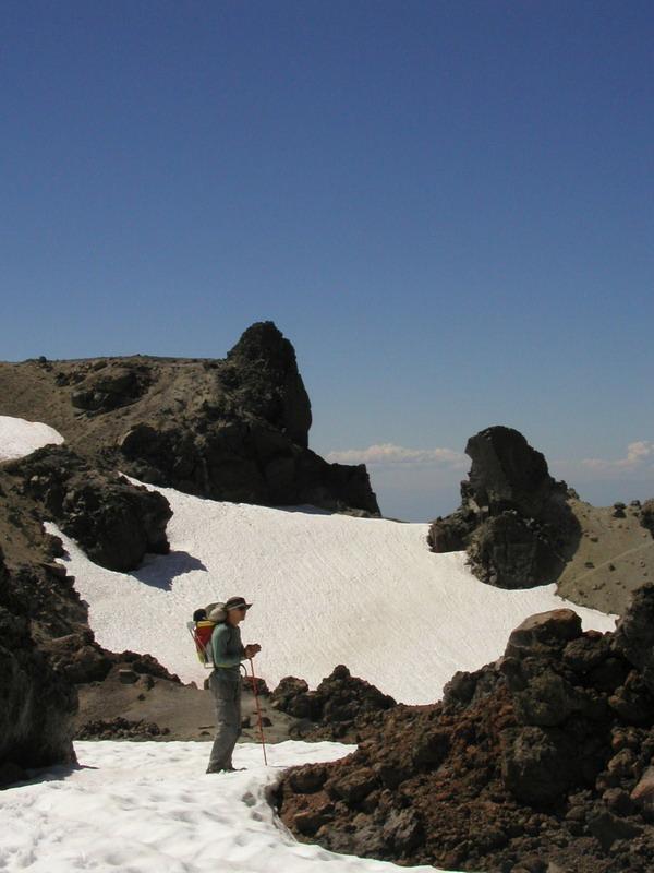 Lassen Volcano crater