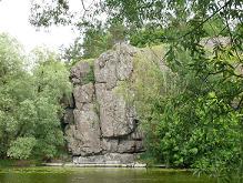 Скалы в районе Винницы