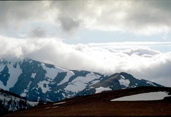 Вид с горы Мезмай