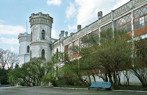 Веранда дворца